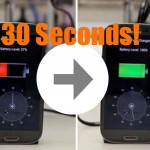 This Insane New Battery Will Allow You to Charge Your Phone In Under 30 Seconds.