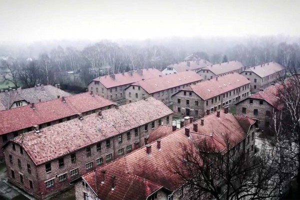 A Drone Flew Over Auschwitz -- And the Result Is Haunting.