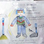 They Asked Kids to Draw Superheroes They Wanted to Be. What One Boy Drew Completely Broke My Heart.