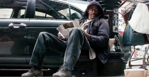 Nothing More Shocking Than How People Completely Ignore Him. Until He Reveals He's Not Homeless.
