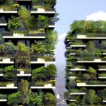 See the Forest That's Growing Within a Concrete Block In Milan.
