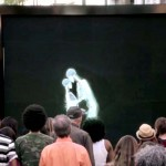 Skeletons Kiss, Hug and Dance In Front of a Crowd. Now Watch Who Steps Out From Behind the Screen.
