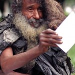 A Homeless Man Sat Writing On the Same Street Corner for 35 Years. Then, a Woman Asked to Read It.