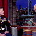 When David Letterman Read a List of This Marine's Injuries, His Response Left the Whole Room Silent.