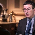John Oliver Flew 10 Hours to Russia to Interview Edward Snowden… And Get Him On Record.