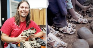 He Met Dozens of Kids Who Didn't Have Shoes. So He Invented 5 Pairs In 1.