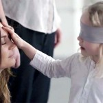 A Bunch of Blindfolded Kids Touch and Smell Mom Out of a Lineup In a Heartwarming Video About Love.