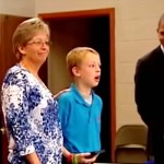 A Boy Stands Up In Front of His School to Receive an Award. What Happens Next Is Awesome.
