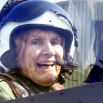 A 92-Year-Old Grandma Flies Her WW2 Fighter Plane for the First Time In 70 Years.