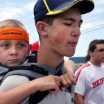 A Michigan Teen Carries His Brother for 57 Miles On His Back for Cerebral Palsy Awareness.