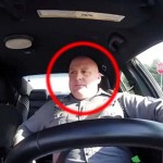 A Cop Forgot the Camera Was Rolling When He Starts Driving. And I Can't Stop Laughing.