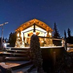 This Snowboarder's Tiny House Is Nestled On a Mountain and Off the Grid.