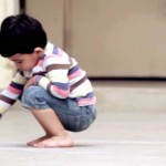 A Little Boy Draws On the Floor. When I Realize What He Really Drew, I'm Speechless.
