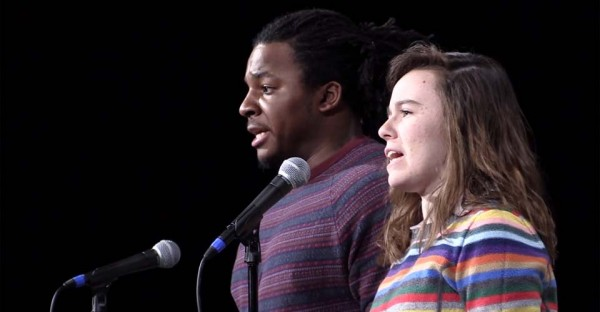 A Black Man and a White Woman Switch Mics… And the Result Is Amazing.
