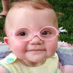 Watch This Baby Try On Glasses and See Her Mom for the First Time. Her Reaction Is Priceless.