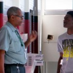 A High School Janitor Has Been Secretly Counseling Kids. What They Catch Him Saying Is Incredible.