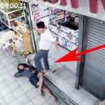 He Kicks a Homeless Man Who Slept at His Shop. But When He Checks the Camera, He's Moved to Tears.