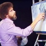 Bob Ross Once Painted Only In Gray for a Colorblind Fan. And It Was Incredible.