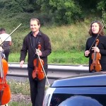 A String Quartet Was Tired of Sitting In Traffic. So They Did Something About It.