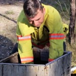 A Firefighter Saw an Abandoned Box In the Woods. What He Found Inside Changed His Life Forever.