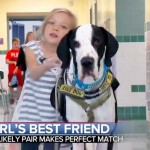 This 11-Year-Old Girl Couldn't Walk… Until She Met Her Great Dane and Best Friend.