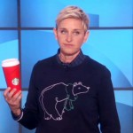 Ellen Weighs In On Starbucks' Red Cup Controversy. And Yes, She Totally Nails It.