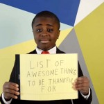 This Kid Came Up With 25 Reasons to Be Thankful — And He's Spot On With All of Them.