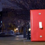 Here's What Happens When You Put a Giant Light Switch In the Middle of NYC.