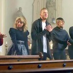 5 People Line Up In an Empty Church. What They Start Singing Will Give You Goosebumps.