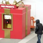 This Looks Like a Giant Christmas Gift. And It Is. But Walk Up to It and… Pure Genius!
