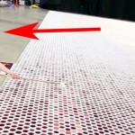 He Lines Up 66,000 Cups Filled With Water 1-by-1. When You Zoom Out From Above… It's Breathtaking!