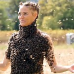 She Dances With 10,000 Bees On Her Body. Now Watch Her Lift Her Arms Into the Air.