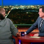 When Colbert and a Rap Star Decided to Speak for Their Entire Races, the Talk Got Real.