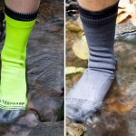 A Portland Company Introduces Waterproof Socks — Stand In a Puddle of Water Without Getting Wet.