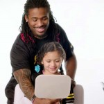 NFL Players Doing Their Daughters' Hair Is the Best 'Super Bowl' Ad Yet.
