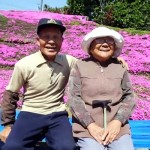 A Loving Husband Spent 2 Years Planting Thousands of Flowers for His Blind Wife to Smell.