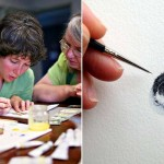 After Becoming a Mom, This Artist Can't Find Time to Paint. So She Does One Tiny Drawing a Day.