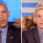 Ellen Thanks Obama for Advocating for LGBT Americans. What He Says Next Leaves Her Speechless.