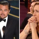 Kate Winslet's Reactions to Leonardo DiCaprio's First Oscar Win Is Everything.