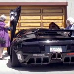 2 Grannies Get Into a $200,000 Lamborghini. Now Watch When They Back the Car Out.