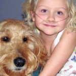 This Dog Isn't Just This Little Girl's Best Friend, He's Also Keeping Her Alive.