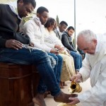 Pope Francis Washes the Feet of Muslim Refugees… And Says We Are 'Children of the Same God'.