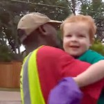 This 2-Year-Old Is Best Friends With the Garbage Man. When They Say Goodbye, Your Heart Will Melt.