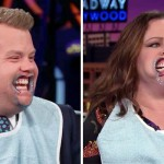 James Corden and Melissa McCarthy Try Holding a Conversation While Wearing Mouthguards.