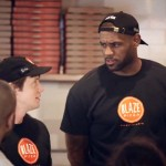LeBron James Goes Undercover… As a Pizza Store Employee.