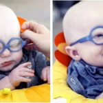 Watch This Baby Try On Glasses and See His Mom for the First Time. His Reaction Is Priceless.