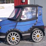 This Looks Like 'The World's Smallest Car'. But When the Door Opens… Pure Genius!