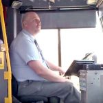 A Bus Driver Sees a Half-Naked Woman Sitting at a Stop. Then, He Pulls Over to Do the Unbelievable.