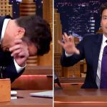 Jimmy Fallon Keels Over In the Middle of His Story About Prince. Now Watch His Hands.