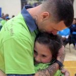 Children of Prisoners Reunite With Their Fathers Behind Bars for a Day.